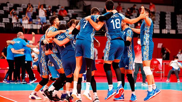 La Selección de Vóley dio el golpe ante Estados Unidos en Tokio y está en cuartos de final