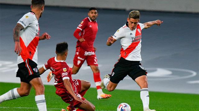 River y Huracán repartieron puntos en El Monumental 1 a 1