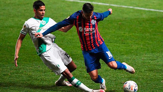 San Lorenzo empató con Banfield en la cuarta fecha de la Liga Profesional.