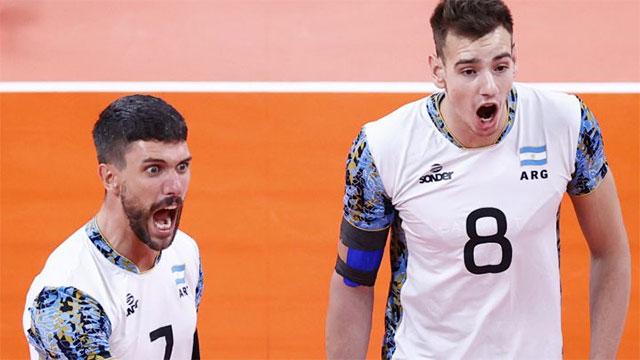 Vóley: Argentina perdió el cuarto set y el partido con Italia se define en tie break