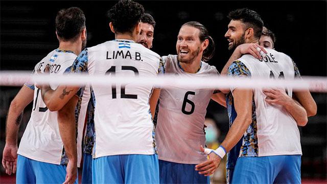 Vamos Argentina: la selección de vóley le ganó a Italia y jugará por medalla