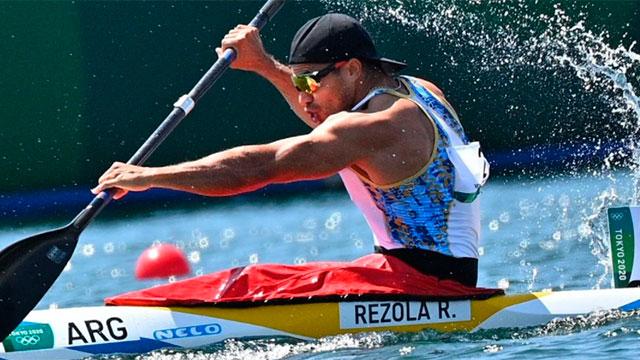 Juegos Olímpicos: El santafesino Rubén Rézola se clasificó a semifinales en canotaje