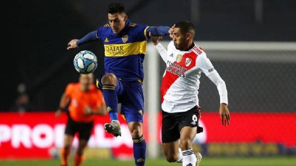 Boca eliminó a River por penales.