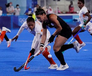 Hockey olímpico: Las Leonas empatan 1-1 con India en el segundo tiempo