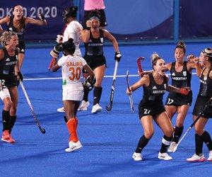 Las Leonas derrotaron a India, pasaron a la final y Argentina se aseguró medalla