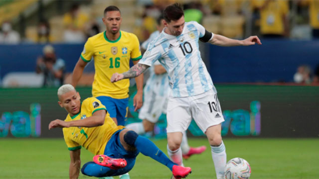 Argentina y Brasil jugarán el domingo a las 16 en San Pablo.