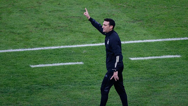 """""""En la Selección Argentina tenés que salir a ganar todos los partidos""""."""