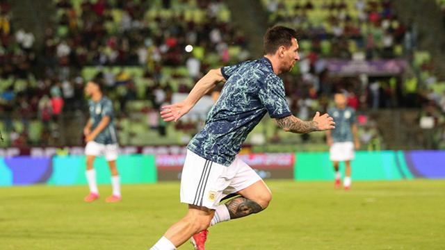 Lionel Messi y un nuevo récord.