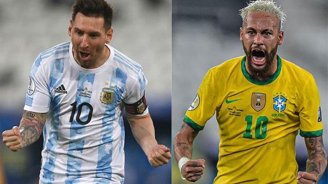 Argentina y Brasil vuelven a enfrentarse tras la final de la Copa América.