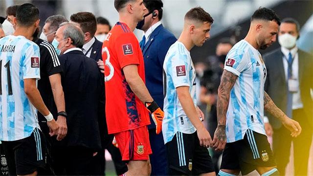 El protocolo extraordinario se rechazó 51 minutos antes del partido.