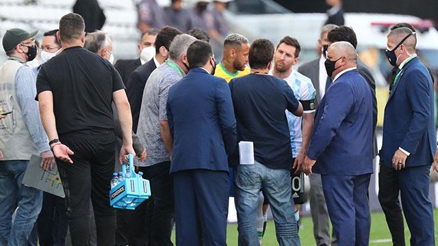 El Gobierno de Brasil suspende el superclásico sudamericano en San Pablo.
