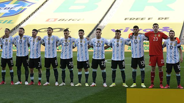 Argentina se mantiene en el sexto puesto.