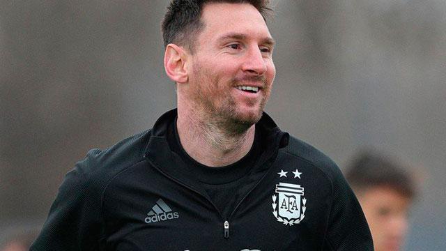 Lionel Messi, emblema de la Selección argentina.