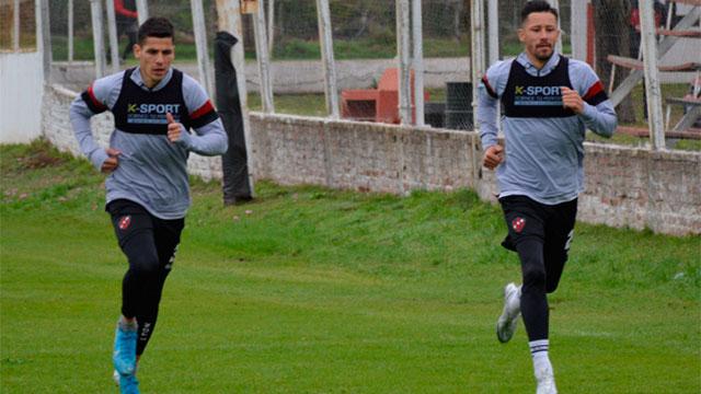 García Guerreño volvió a entrenar. (Foto: Prensa Patronato)