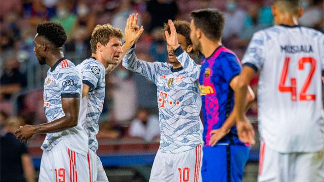 Barcelona sigue extrañando a Messi y cayó vapuelado por Bayern 3-0.