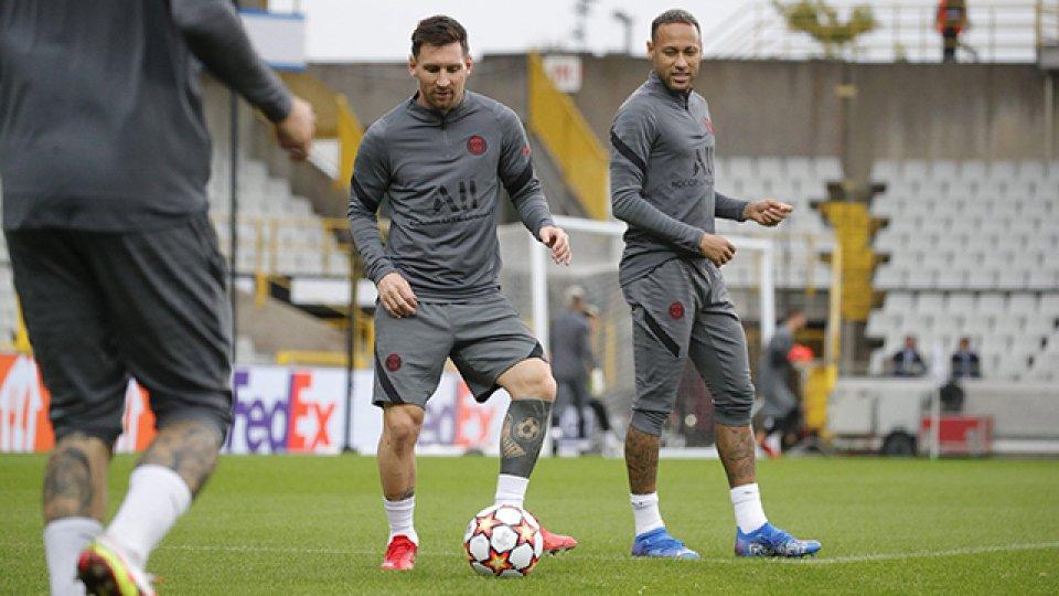 PSG y Messi inician su camino en la Liga de Campeones.