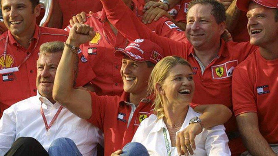 Se estrenó el documental de Schumacher.