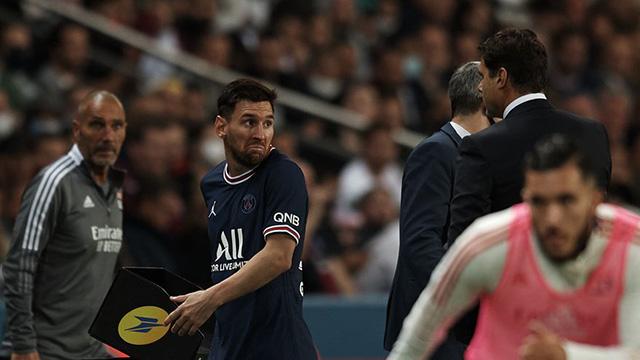 La reacción de Messi: Pochettino lo reemplazó y al argentino no le gustó salir