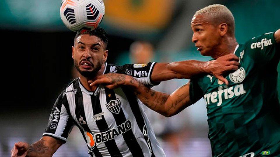 Palmeiras y Mineiro terminaron iguales en la primera semifinal.