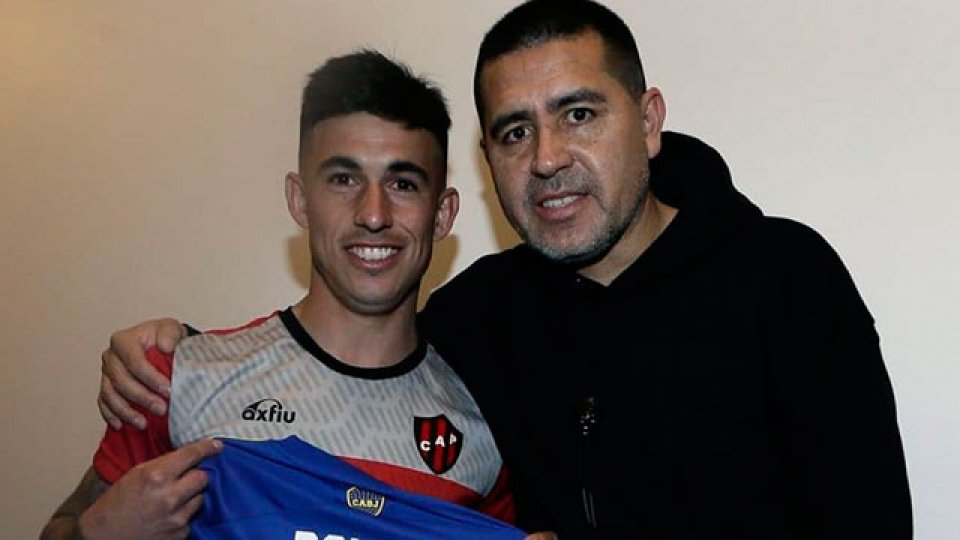 Comas conoció a su ídolo de toda la vida. (Foto: Boca Juniors Oficial)