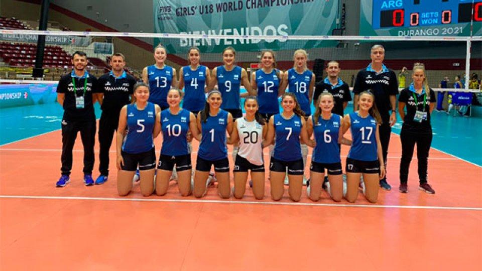 Las Panteritas cayeron ante Rusia en el Mundial U18.