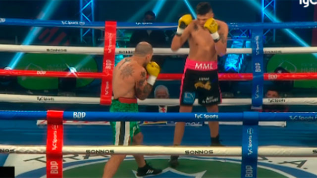 Boxeo: Wenceslao Mansilla fue descalificado en un fallo con polémica