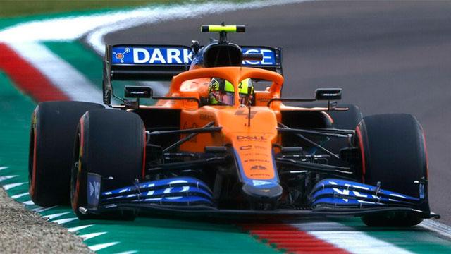 Lando Norris se quedó con la clasificación para el GP de Rusia.