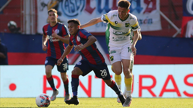 A San Lorenzo no le sobró nada, pero venció 2 a 1 a Defensa.