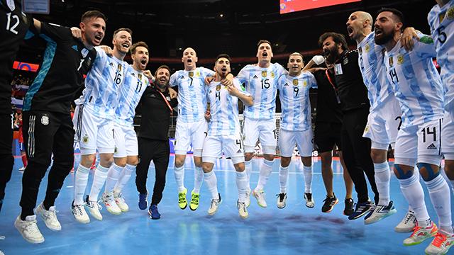 Mundial de Futsal: día y hora para la semifinal entre Argentina y Brasil