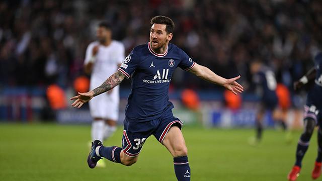 Messi anotó por primera vez en el PSG.