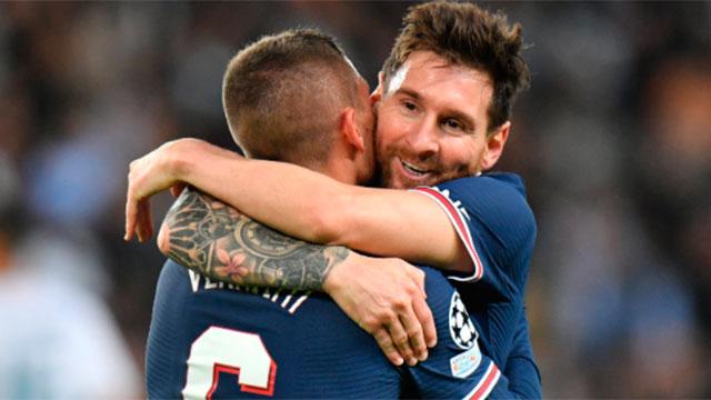Messi anotó por primera vez en el PSG y marcó un golazo en el gran triunfo ante el City