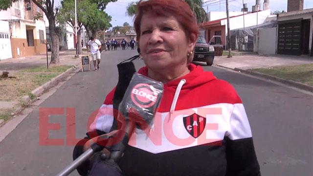 El público rojinegro retornó al Grella para apoyar a Patronato.