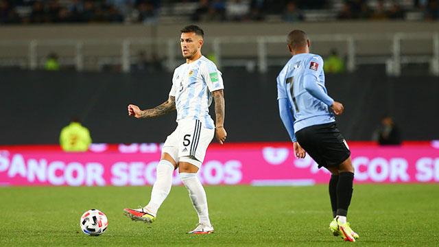 Alerta en la Selección: se lesionó Paredes, es baja en PSG y duda en Argentina