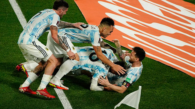 Argentina sigue a paso firme hacia Qatar 2022.