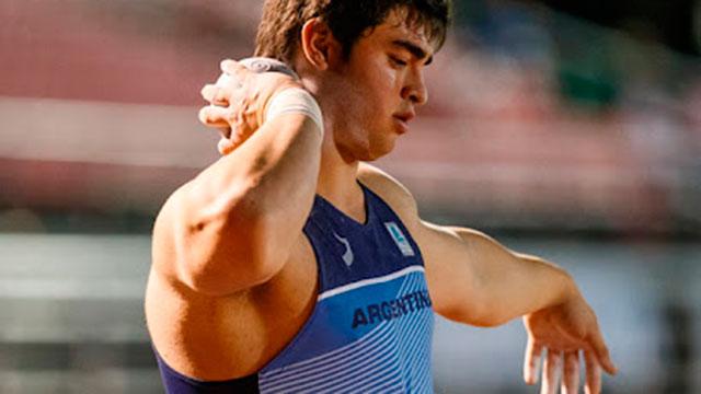 Sudamericano U23 de Atletismo: Nazareno Sasia, medalla de oro en lanzamiento de bala