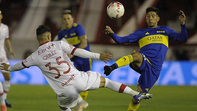 Liga Profesional: Boca es superior y golea a Huracán 3-0 de visitante