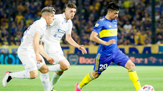 Godoy Cruz sorprende a Boca y le gana 1-0 en la Bombonera