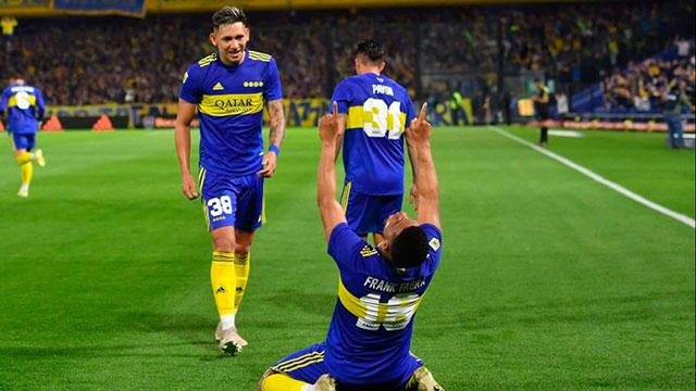 Boca reaccionó, lo dio vuelta y le gana 2-1 a Godoy Cruz en La Bombonera