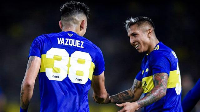 Boca superó a Godoy Cruz en La Bombonera y no se baja de la pelea por el título