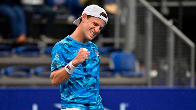 Diego Schwartzman ganó otra vez e irá por el título en el ATP de Amberes