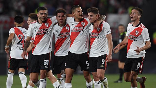 River aplastó a Argentinos, sacó más diferencia y se encamina al título